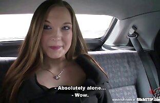 På kameran hon vänds som en vän är att leka med fake taxi porr hundar